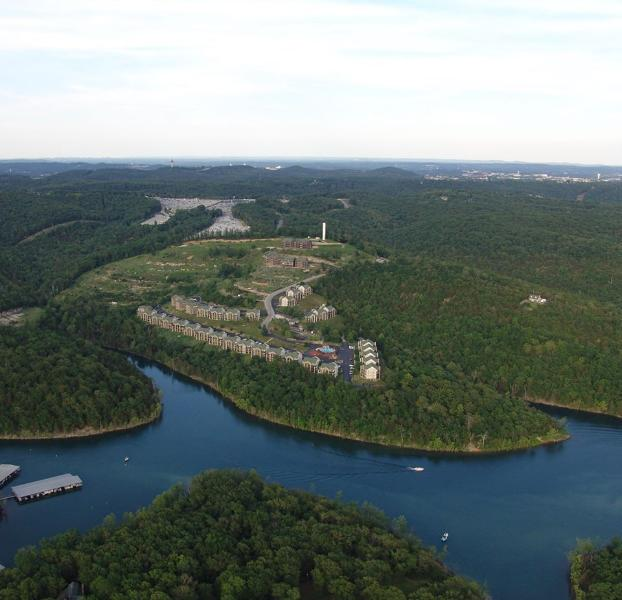 Aerial View of Resort & Table Rock Lake! - Beautiful Branson Condos on Table Rock & near SDC! - Branson - rentals
