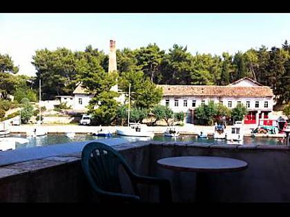 Toni(2+1): terrace - 1715  Toni(2+1) - Vrboska - Vrboska - rentals