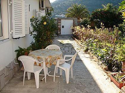 A2(2+1): garden terrace - 01404VIS  A2(2+1) - Vis - Vis - rentals