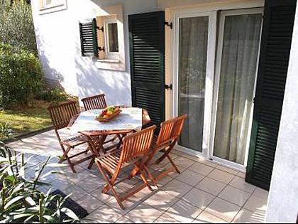 A4(2+2): terrace - 2084  A4(2+2) - Kampor - Kampor - rentals
