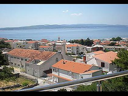 A1(2+2): terrace view - 2327 A1(2+2) - Baska Voda - Baska Voda - rentals