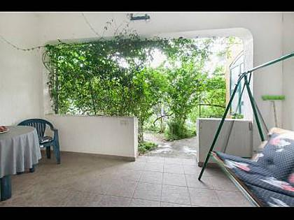 SA1(2+1): terrace - 2479 SA1(2+1) - Makarska - Makarska - rentals