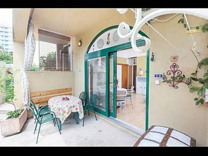 A2(3+3): terrace - 2479 A2(3+3) - Makarska - Makarska - rentals