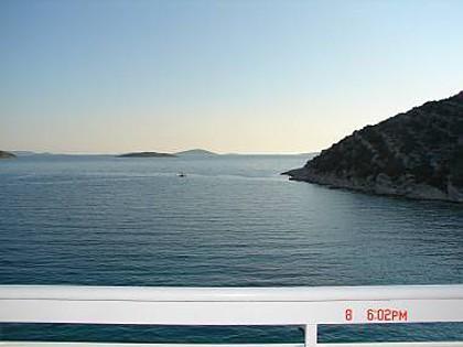 A2(2+2): view - 2490 A2(2+2) - Cove Murtar (Jezera) - Cove Murtar - rentals