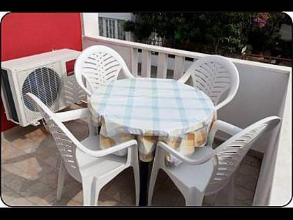 SA1(2+1): terrace - 2537 SA1(2+1) - Rogoznica - Rogoznica - rentals
