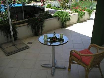 A2(4+2): garden terrace - 2659  A2(4+2) - Sveti Filip i Jakov - Sveti Filip i Jakov - rentals