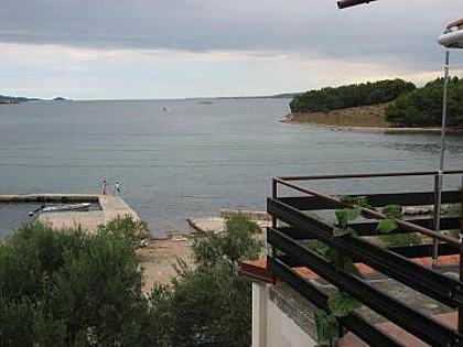 A2(5): terrace view - 2697 A2(5) - Barotul - Mrljane - rentals