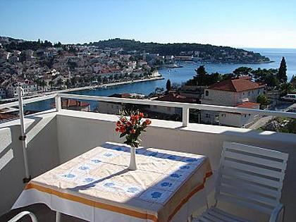 SA2(2): balcony - 04903HVAR SA2(2) - Hvar - Hvar - rentals