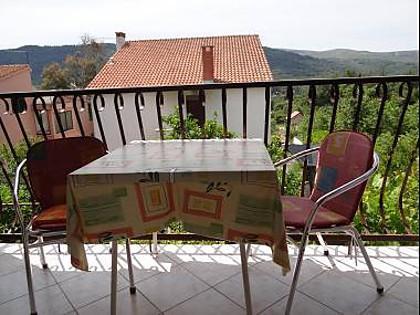 A2(2+2): terrace - 00603STAR  A2(2+2) - Stari Grad - Stari Grad - rentals