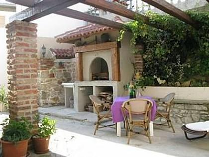 fireplace (house and surroundings) - 2970 A2(6+2) de luxe - Kampor - Kampor - rentals