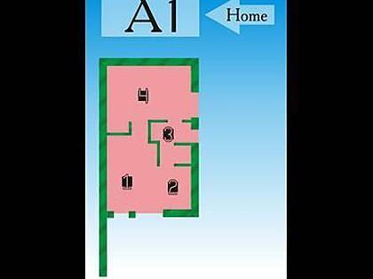 A1(2+1): floor plan - 3544 A1(2+1) - Vrbnik - Vrbnik - rentals