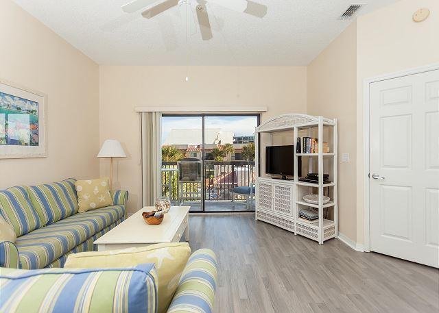 Welcome to Ocean Village Q35! - Ocean Village Club Q35,3rd floor, Elevator, with 2 pools, new floors & HDTVs - Saint Augustine - rentals