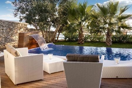 Modern sanctuary Villa Maria 5 meters from the sea with lush grounds, pool- sauna - Image 1 - Trogir - rentals