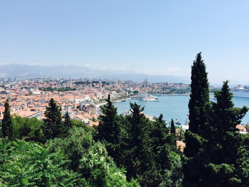The view point about 50m from the apartment - Luxurious apartment in the center of Split - Split - rentals