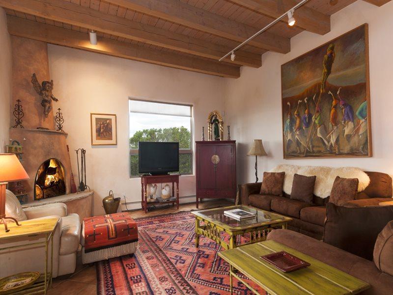 Living Room - Cielo Azul - Santa Fe - rentals