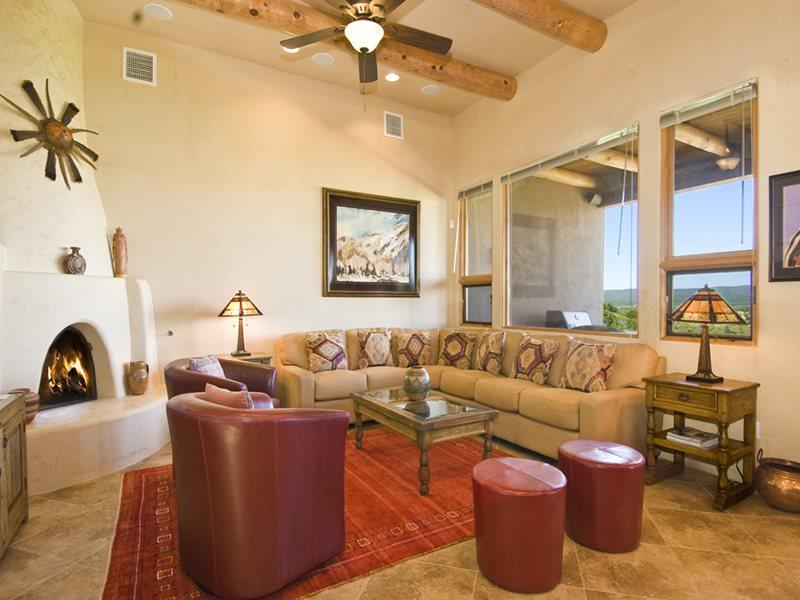 Living Room - Las Campanas Lake View - Santa Fe - rentals