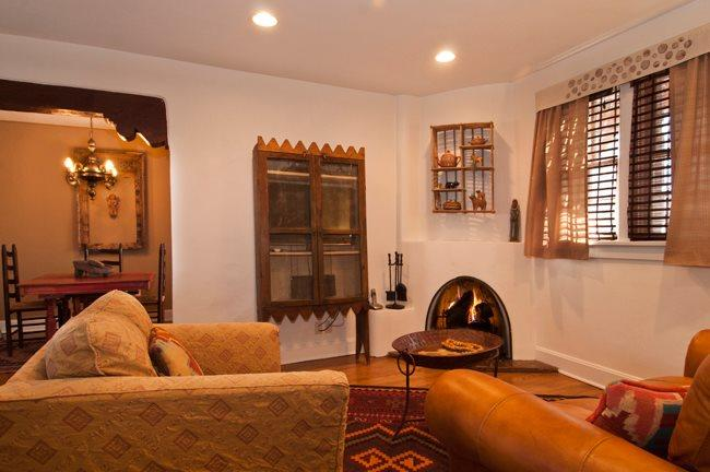 Living Room - Casa Amigo - Santa Fe - rentals