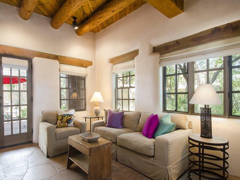 Living Room - Casita de Guadalupe - Santa Fe - rentals