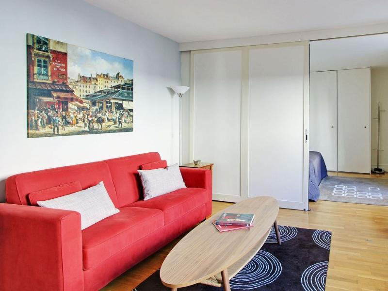 Living room - Greneta Apartment on the Edge of Marais - Paris - rentals