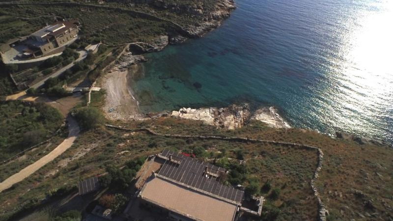 Greek Residence -  Beach serves as your Pool VM - Image 1 - Kea - rentals