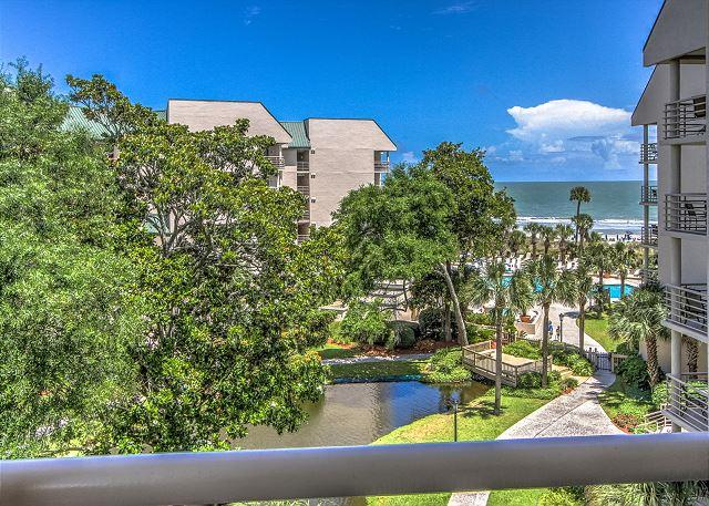 View - 3422 Villamare-Oceanfront Views,  FULLY RENOVATED & ! August weeks available - Hilton Head - rentals