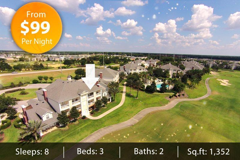 Next to the Pool, 3 bed Condo located in Reunion Resort with Panoramic Views - Image 1 - Reunion - rentals