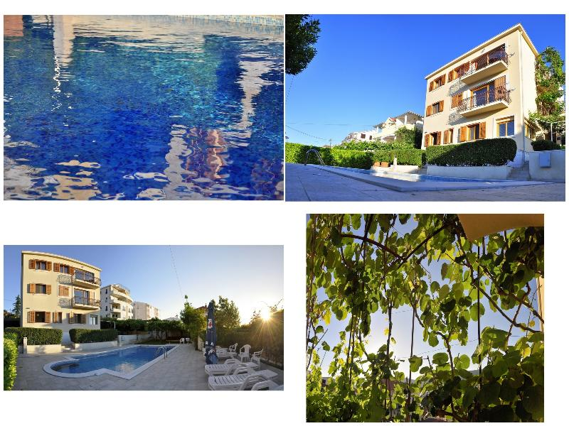 Property exterior - Green paradise apartment with swimming pool - Trogir - rentals