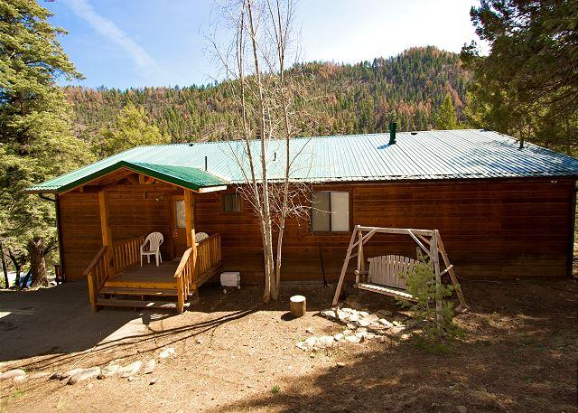 Riverside House is located in the wooded Upper Canyon with lots of wildlife. - Image 1 - Ruidoso - rentals