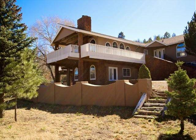Blue Bear Retreat is a gorgeous 8 bedroom 5.5 bath spacious home. - Image 1 - Ruidoso - rentals