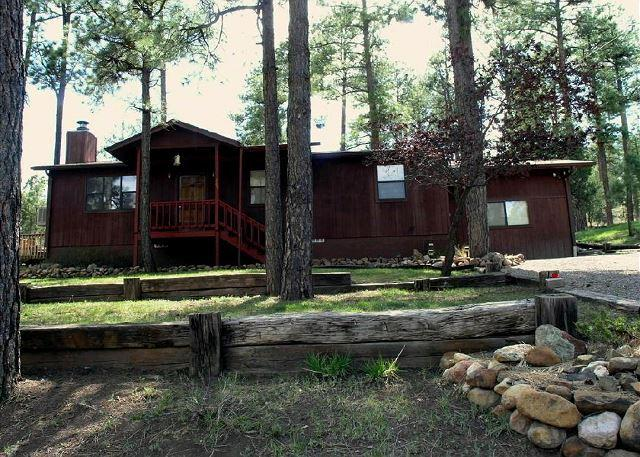 Bear Cat Crossing is a unique 3 bedroom 2 bath in central Ruidoso. - Image 1 - Ruidoso - rentals