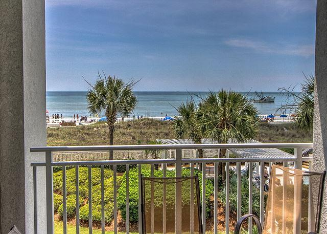 View - 3204 SeaCrest-Beautiful Oceanfront Views/ $300 OFF 8/22 & 8/29  weeks - Hilton Head - rentals