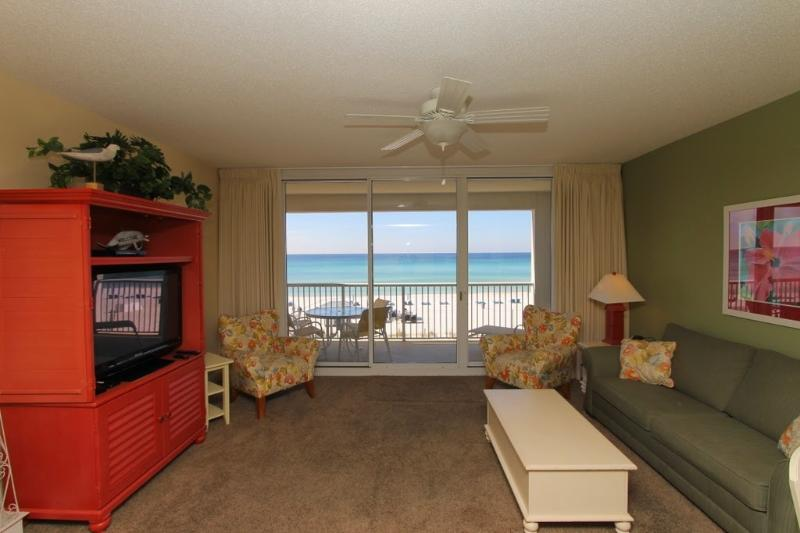Enjoy the Gulf Views from your Main Living Area - Majestic Beach Resort T1 Unit 213 - Panama City Beach - rentals