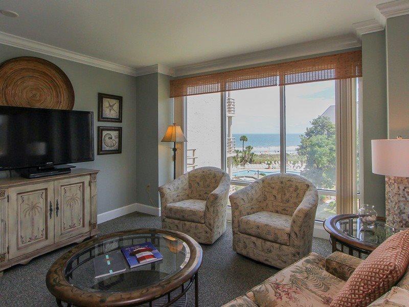 1404 Villamare - Fabulous 2 bedroom Oceanfront Villa in Palmetto Dunes - 1404 Villamare - Palmetto Dunes - rentals