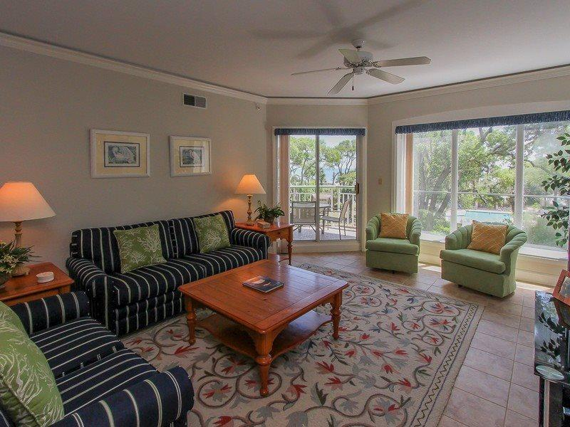 301 Windsor Place in Palmetto Dunes has 2 bedrooms and 2 full bathrooms - 301 Windsor Place - Palmetto Dunes - rentals