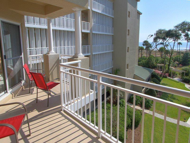 Balcony at 5304 Hampton Place - 5304 Hampton Place - Hilton Head - rentals
