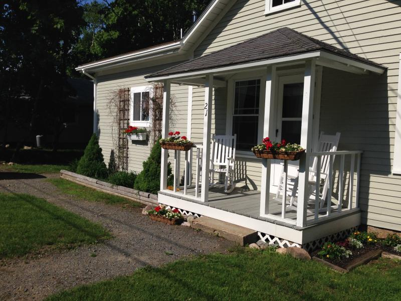 Relax on the front porch in the rocking chairs - Shubert Bungalow - Fall Sale! - Seal Harbor - rentals