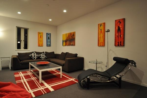 Spacious Lounge area - Altitude Hakuba - Luxury Accommodation Skyline Ap - Hakuba-mura - rentals