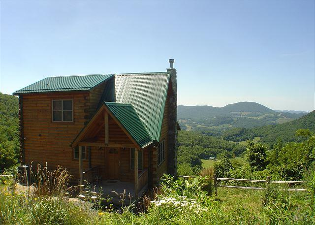 """ABSOLUTE HIGH"" Breathtaking Views at 3900 ft & only 5 minutes to everything! - Image 1 - West Jefferson - rentals"