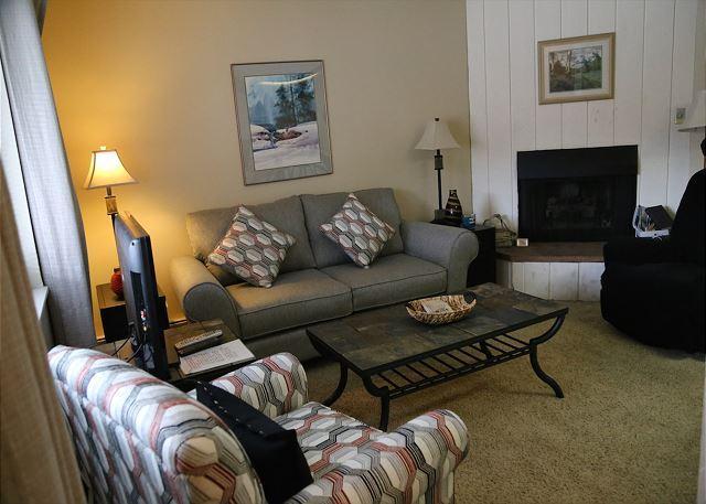 Living Room - Downtown Breckenridge Lodging - Breckenridge - rentals
