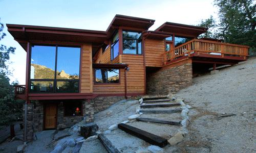 2 Bedroom, Wifi, No Pets, Stunning Views: Baby grand piano, wood stove, gas fireplace in bedroom. - Jays View - Idyllwild - rentals