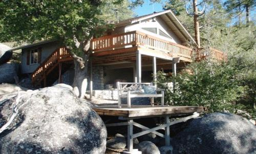 2 Bedroom,2 Bath,Sleeps 6,Wifi, No Pets: 2 indoor spa tubs,wood burning fireplace, views - Treehouse - Idyllwild - rentals