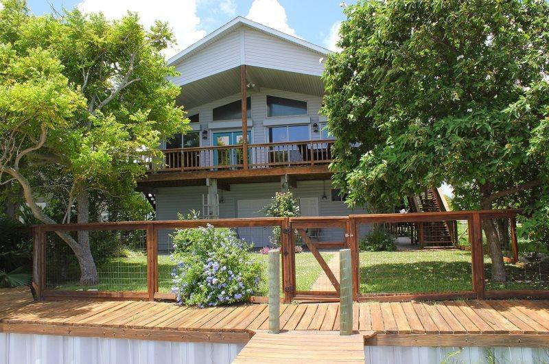Back view of Coastal Oasis - Coastal Oasis - Rockport - rentals