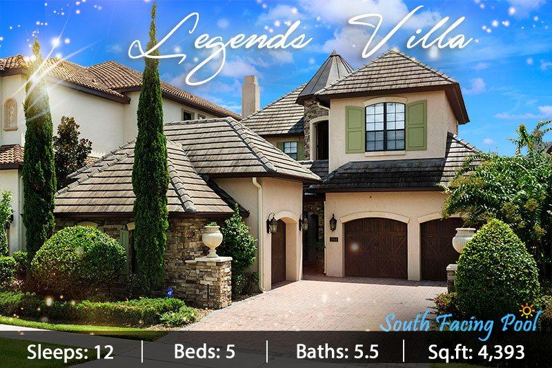 Legends Villa - 5 Bed Home With South Facing Pool, Finest Decor, Cinema Room and Stunning Golf Course Views - Image 1 - Reunion - rentals