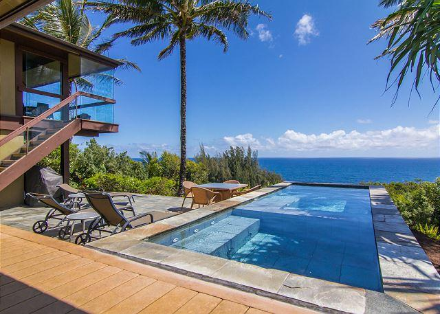 Keoniana Kai: Island home situated on the Bluff with breathtaking ocean views - Image 1 - Princeville - rentals