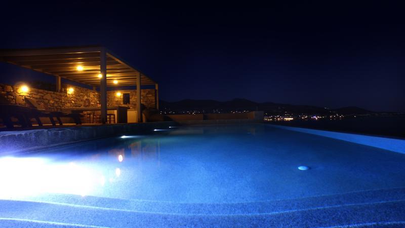Paros, Luxury Seafront Villa with Infinity Pool - Image 1 - Paros - rentals