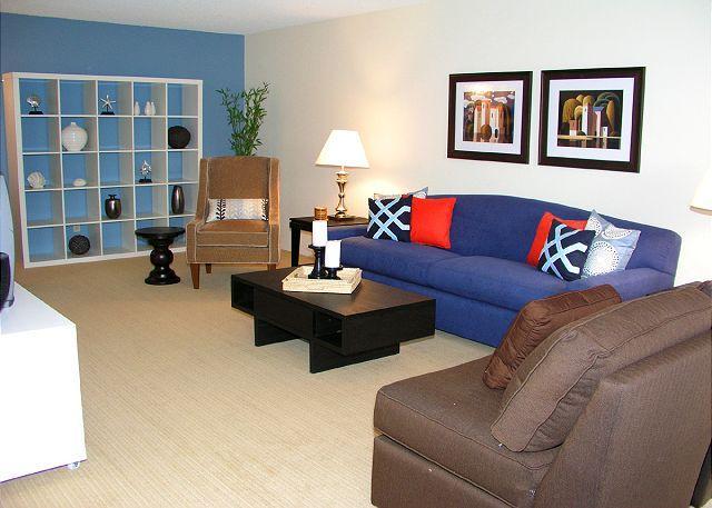 Living Room - 2 Bedroom, 2 Bathroom Vacation Rental in Solana Beach - (DMBC746SS) - Solana Beach - rentals