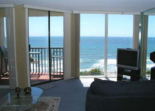 View From Living Room - 1 Bedroom, 1 Bathroom Vacation Rental in Solana Beach - (DMST22) - Solana Beach - rentals