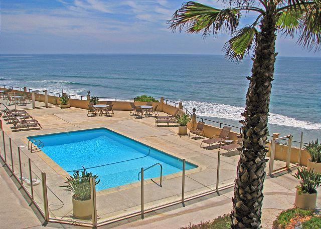 View of pool - 1 Bedroom, 2 Bathroom Vacation Rental in Solana Beach - (DMBC831B) - Solana Beach - rentals