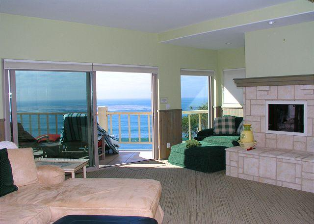 View From Living Room - 2 Bedroom, 2 Bathroom Vacation Rental in Solana Beach - (LB32) - Solana Beach - rentals