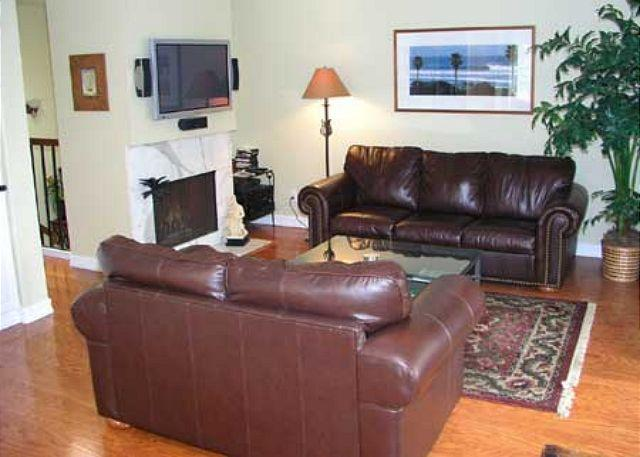 Living Room - 2 Bedroom, 2 Bathroom Vacation Rental in Del Mar - (DM13072CAM) - Solana Beach - rentals